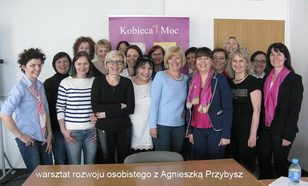 warsztat rozwoju osobistego z Agnieszka Przybysz